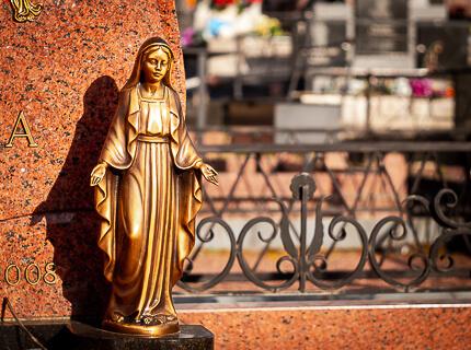 Бронзовая статуя Caggiati
