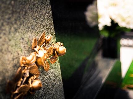 Бронзовый цветок Caggiati