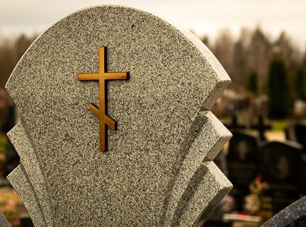 Бронзовый крест Caggiati