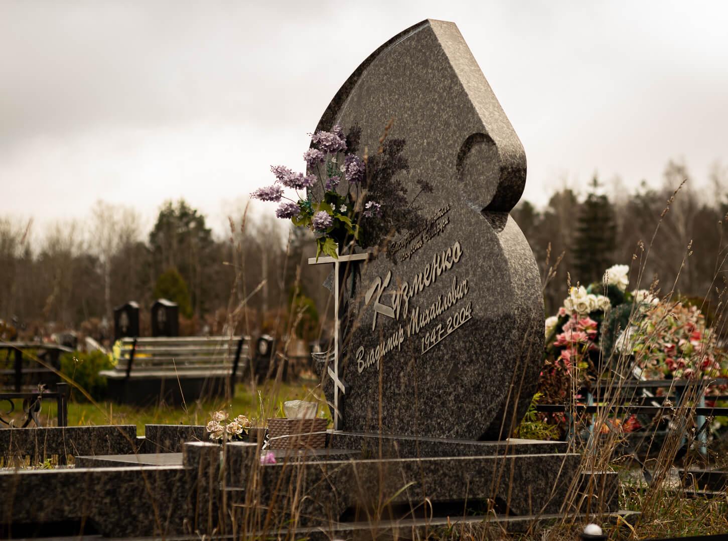 Ритуальные памятники в Минске от компании Гранитное Дело
