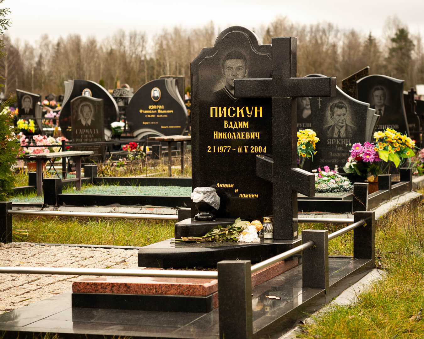Гранитные памятники в Минске