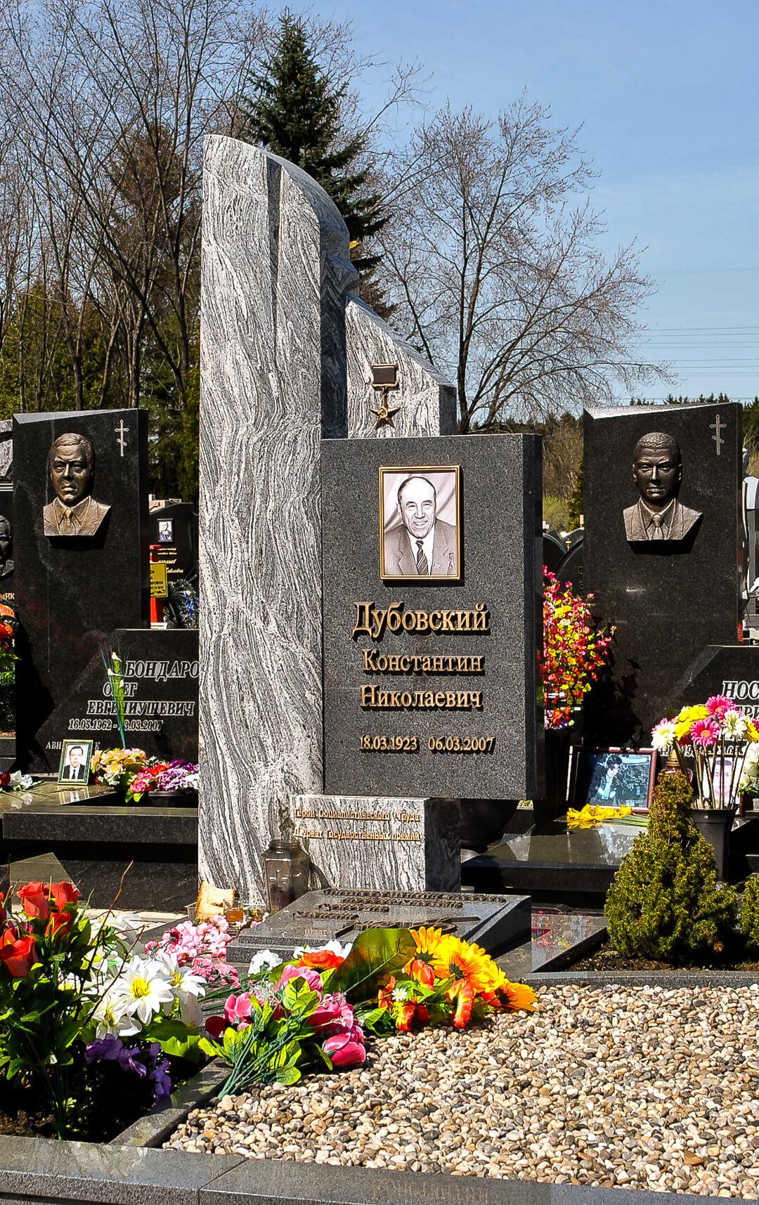 Эксклюзивные памятники - фото с Западного кладбища в Минске