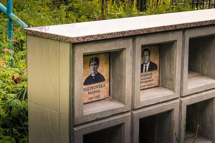 Колумбарий в Минске в торговой сети Гранитное Дело