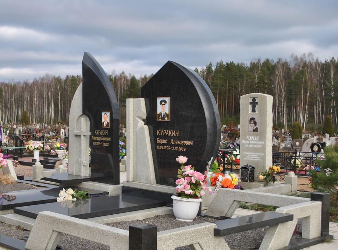 Памятники комбинированные фото и цены