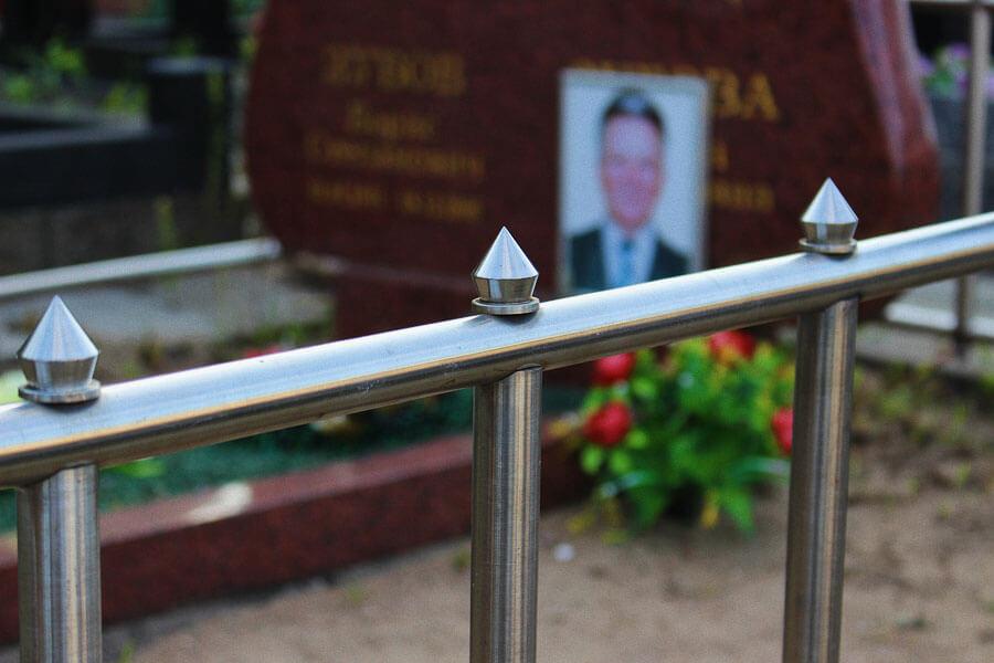 Оградки на кладбище: фото и цена от производителя