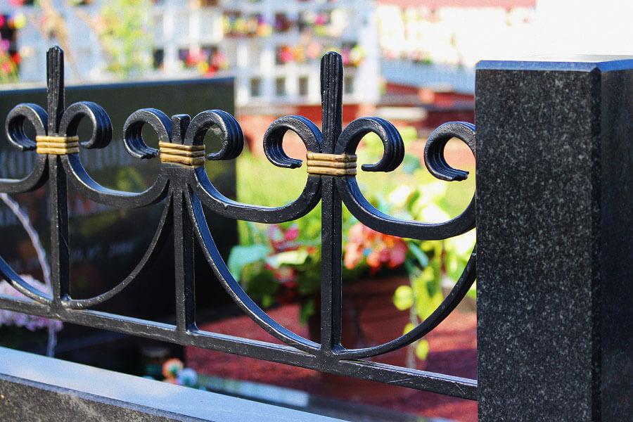 Изготовление оградок на могилу в Минске