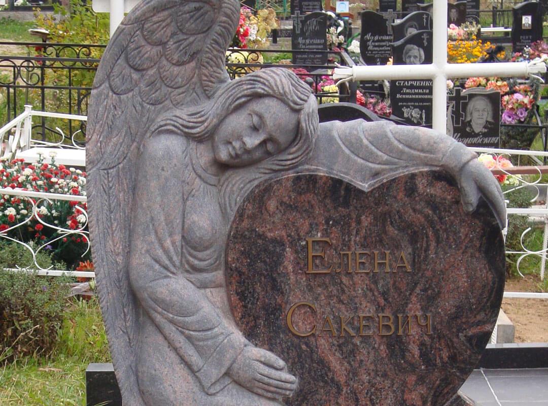 Памятник-ангел на могилу