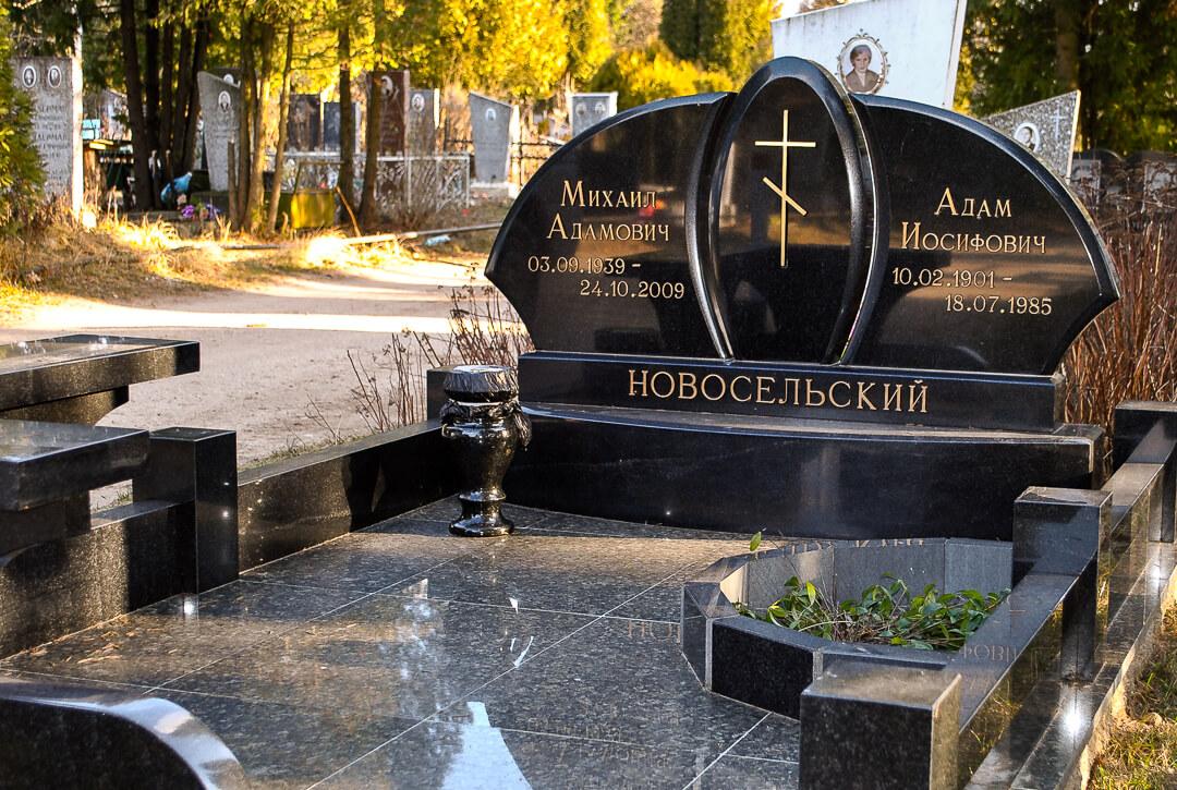 Семейные памятники на могилу фото и цены