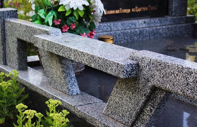 Изготовление скамеек на кладбище